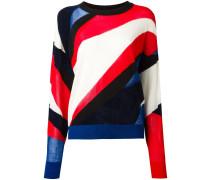 Pullover mit transparenten Einsätzen - women