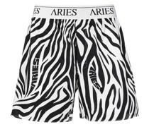 Boxershorts mit Zebra-Print