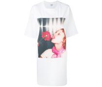 'Girl with Rose' TShirtkleid