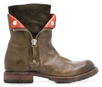 Stiefel mit seitlichem Reißverschluss