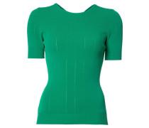 Kurzärmeliger Pullover mit Cut-Out - women