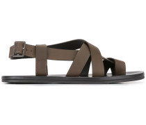 Sandalen mit überkreuzten Riemen - men