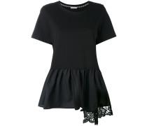 T-Shirt mit Schößchen - women - Baumwolle - XS