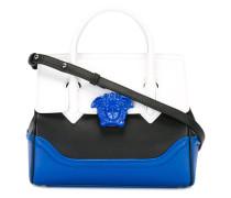 colourblock satchel bag