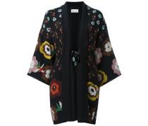 - Kimonojacke mit Blumen-Print - women