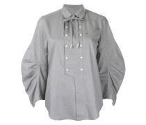 embellished bib shirt