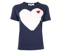 T-Shirt mit Logo-Patch