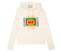 - Print hooded sweatshirt - men - Baumwolle - S