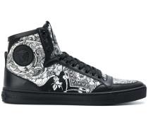 Baroccoflage hi-top sneakers