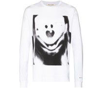 T-Shirt mit Infrarot-Print