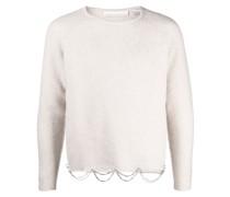 Pullover mit drapierter Kette