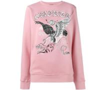Sweatshirt mit Adler-Print