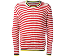 Gestreifter Pullover - men - Baumwolle - 54