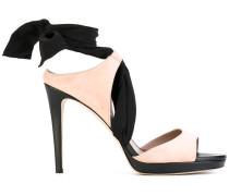 Sandalen in Colour-Block-Optik - women - Leder