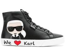 'Karl' High-Top-Sneakers