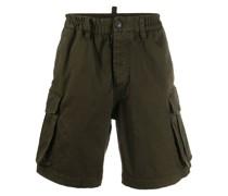 Cargo-Shorts mit Stretchbund