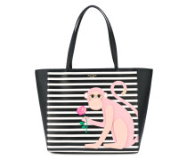 Schultertasche mit Affen-Print - women - Leder