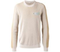 Pullover mit Logostickerei - men - Baumwolle - M