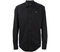 Klassisches Hemd - men - Baumwolle/Elastan - 46