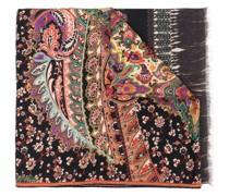 paisley-print scarf