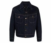 Jeansjacke mit Knopfleiste