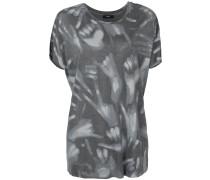 T-Shirt mit Hände-Print