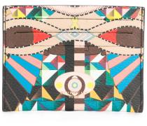 geometric pattern cardholder