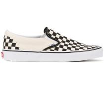 Slip-On-Sneakers mit Schachbrettmuster