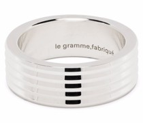 Geriffelter Guilloche-Ring