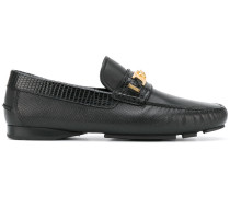 Loafer mit Medusa-Detail - men - Leder/rubber