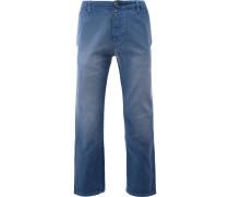 Klassische Cropped-Jeans - men