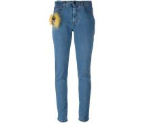 "Skinny-Jeans mit ""Bag Bugs""-Detail"