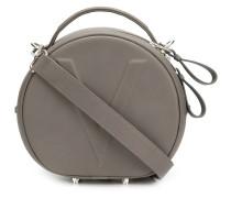 Handtasche mit V-Prägung
