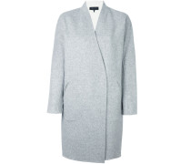 Mittellanger Oversized-Mantel - women - Wolle
