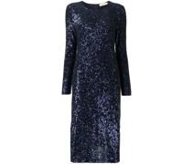 embellished shift midi dress