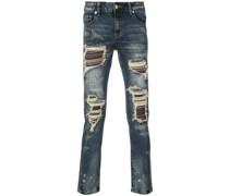 'Soto' Jeans mit Distressed-Optik