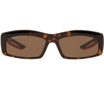 Eckige 'Hybrid' Sonnenbrille