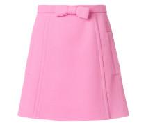 bow detail mini skirt