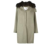 fox fur collar coat