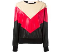 Sweatshirt mit Chevron-Muster