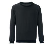 'Dress Code' Sweatshirt mit rundem Ausschnitt