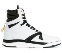High-Top-Sneakers mit Vorhängeschloss