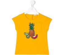 T-Shirt mit Ananas-Print