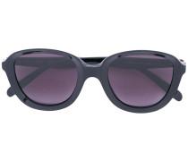 Runde Oversized-Sonnenbrille - women - Acetat