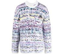 Pointillism Jacquard-Pullover
