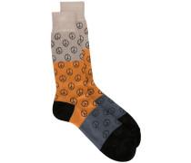 Socken mit Peace-Zeichen