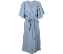 Chambray-Kleid mit Gürtel