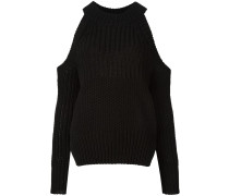Schulterfreier Pullover - women - Baumwolle - S