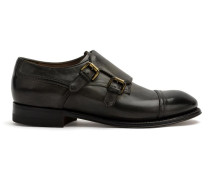 Monk-Schuhe mit zwei Schnallen