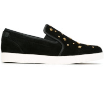 Slip-On-Sneakers mit Verzierung